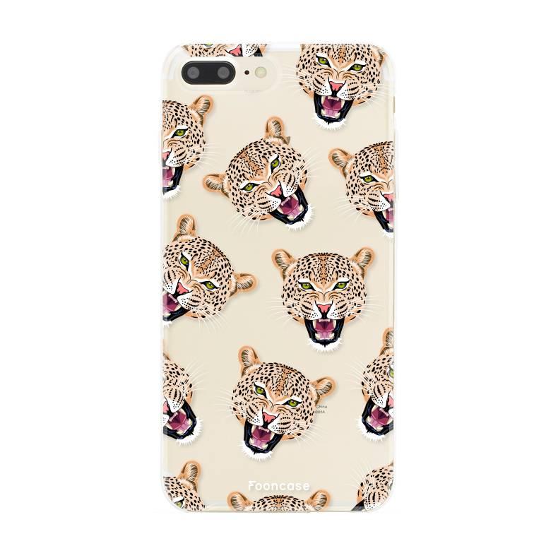 pretty nice 41053 d540d FOONCASE | Cheeky Leopard phone case | Iphone 8 plus