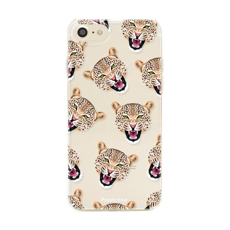 Apple Iphone 8 hoesje - Cheeky Leopard