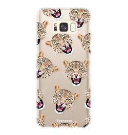 FOONCASE Samsung Galaxy S8 Plus - Cheeky Leopard