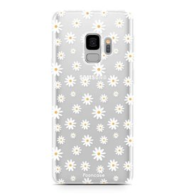 FOONCASE Samsung Galaxy S9 - Daisies
