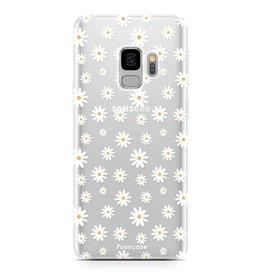 FOONCASE Samsung Galaxy S9 - Gänseblümchen