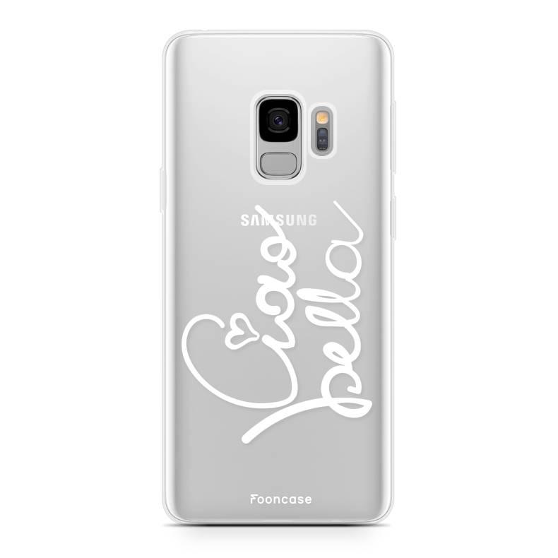 FOONCASE Samsung Galaxy S9 hoesje TPU Soft Case - Back Cover - Ciao Bella!