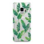 FOONCASE Samsung Galaxy S9 - Banana leaves