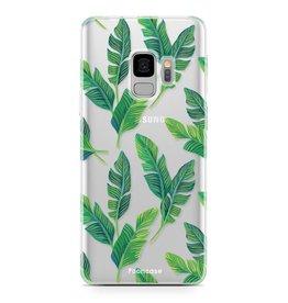 FOONCASE Samsung Galaxy S9 - Bananenblätter