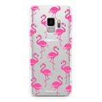 FOONCASE Samsung Galaxy S9 - Flamingo