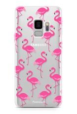 FOONCASE Samsung Galaxy S9 Handyhülle -  Flamingo