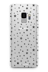 FOONCASE Samsung Galaxy S9 hoesje TPU Soft Case - Back Cover -  Stars / Sterretjes