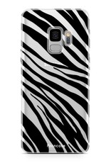 FOONCASE Samsung Galaxy S9 Handyhülle - Zebra
