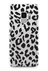FOONCASE Samsung Galaxy S9 hoesje TPU Soft Case - Back Cover - Luipaard / Leopard print