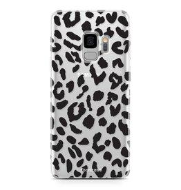 FOONCASE Samsung Galaxy S9 - Luipaard print