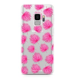 Samsung Samsung Galaxy S9 - Pink leaves