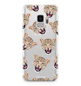 FOONCASE Samsung Galaxy S9 - Cheeky Leopard