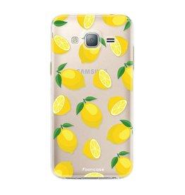 FOONCASE Samsung Galaxy J3 2016 - Lemon