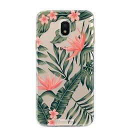 FOONCASE Samsung Galaxy J3 2017 - Tropical Desire