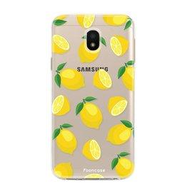 FOONCASE Samsung Galaxy J3 2017 - Lemon