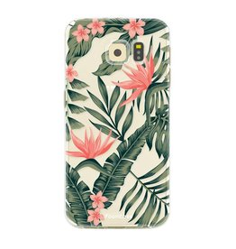 FOONCASE Samsung Galaxy S6 Edge - Tropical Desire