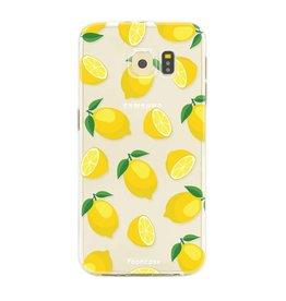 FOONCASE Samsung Galaxy S6 Edge - Lemons