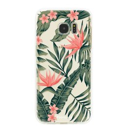 FOONCASE Samsung Galaxy S7 Edge - Tropical Desire
