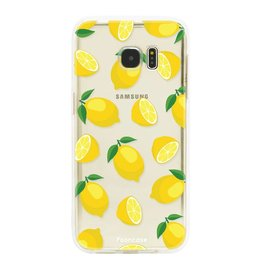 FOONCASE Samsung Galaxy S7 Edge - Lemons