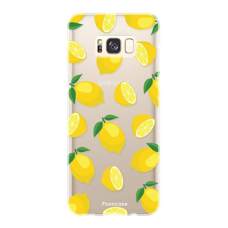 FOONCASE Samsung Galaxy S8 Plus Handyhülle - Lemons