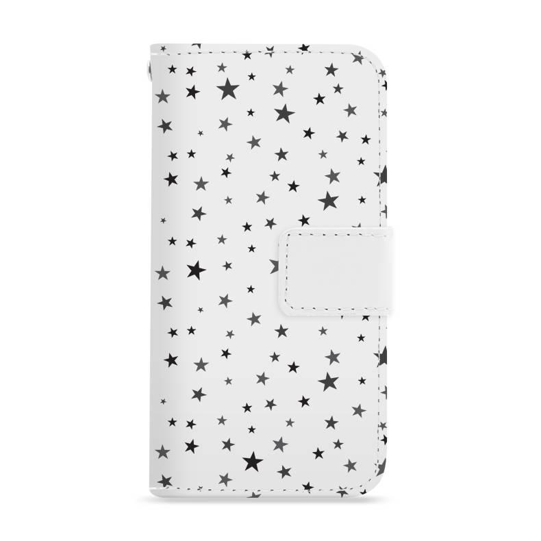 FOONCASE iPhone 8 hoesje - Bookcase - Flipcase - Hoesje met pasjes - Stars / Sterretjes