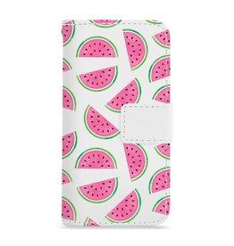 FOONCASE Iphone 8 - Watermeloen - Booktype