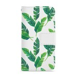 FOONCASE Iphone 6 Plus - Banana leaves - Booktype
