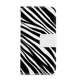 FOONCASE Iphone 7 - Zebra - Booktype