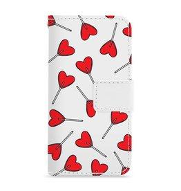 FOONCASE Iphone 7 - Love Pop - Booktype