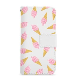 FOONCASE Iphone 7 - Ice Ice Baby - Booktype