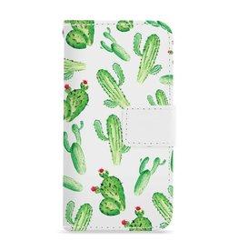 FOONCASE Iphone 7 - Cactus - Booktype