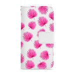 FOONCASE Iphone 6 Plus - Pink leaves - Booktype