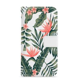 FOONCASE Iphone 8 Plus - Tropical Desire - Booktype
