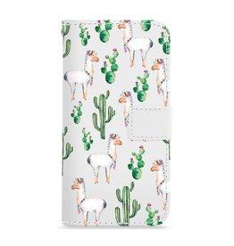 FOONCASE Iphone 7 Plus - Alpaca - Booktype