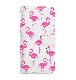 Apple Iphone 8 Plus - Flamingo - Booktype