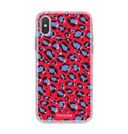 FOONCASE Iphone X - WILD COLLECTION / Rood