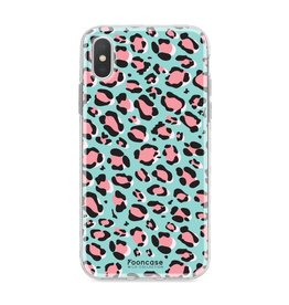 FOONCASE Iphone X - WILD COLLECTION / Blauw