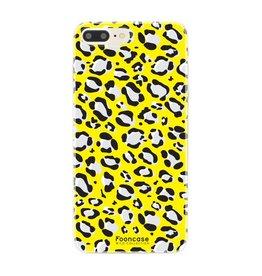 FOONCASE Iphone 8 Plus - WILD COLLECTION / Geel