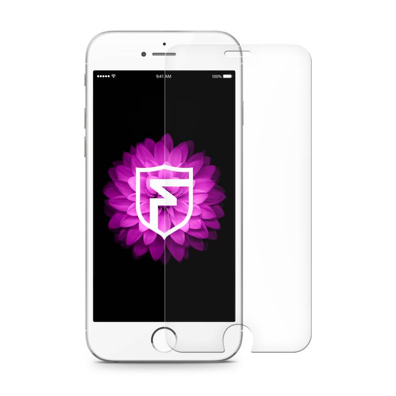 FOONCASE iPhone 6 / 6S - Screen protector (Tempered glass) + Cleaning kit