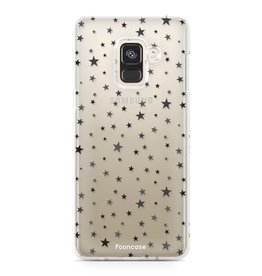 FOONCASE Samsung Galaxy A8 2018 - Sterne