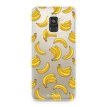 FOONCASE Samsung Galaxy A8 2018 - Bananas