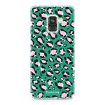 FOONCASE Samsung Galaxy A8 2018 - WILD COLLECTION / Green