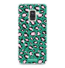 Apple Samsung Galaxy A8 2018 - WILD COLLECTION / Grün