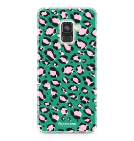 FOONCASE Samsung Galaxy A8 2018 - WILD COLLECTION / Green