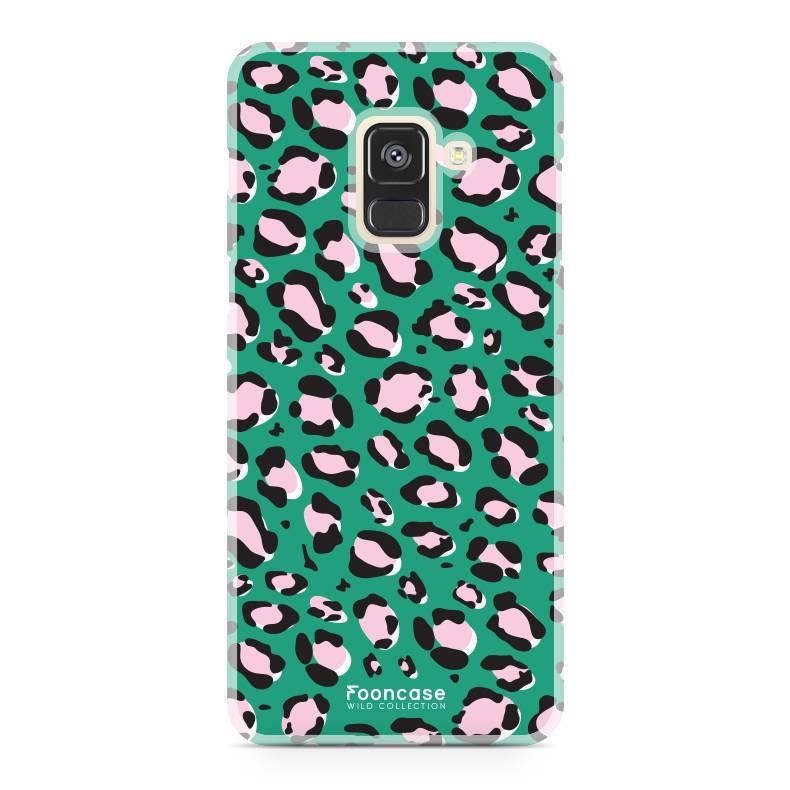 FOONCASE Samsung Galaxy A8 2018 - WILD COLLECTION / Grün