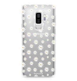 FOONCASE Samsung Galaxy S9 Plus - Gänseblümchen