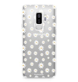 FOONCASE Samsung Galaxy S9 Plus - Madeliefjes