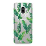 FOONCASE Samsung Galaxy S9 Plus - Banana leaves