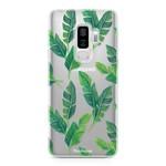 FOONCASE Samsung Galaxy S9 Plus - Bananenblätter