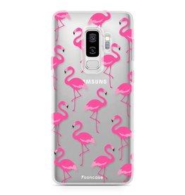 FOONCASE Samsung Galaxy S9 Plus - Fenicottero